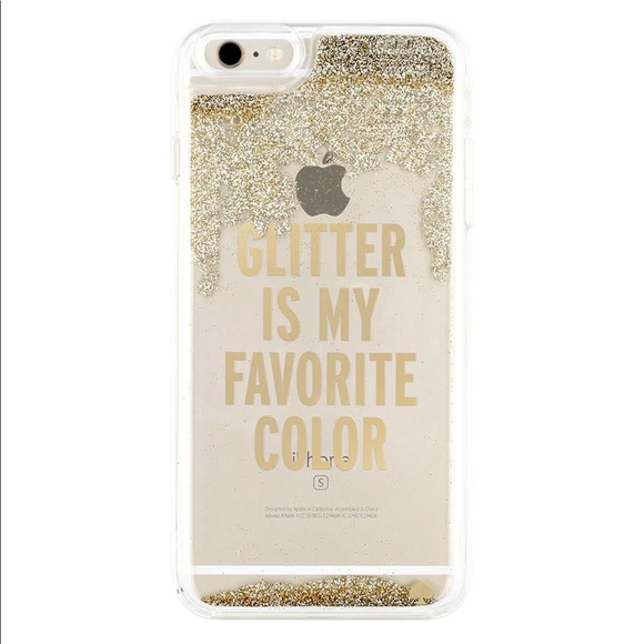brand new 78f89 9309d Kate Spade Glitter Is My Favorite Color Phone Case